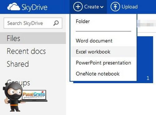 Microsoft SkyDrive Hadir dengan Tampilan dan Fitur Baru Khas Windows 8