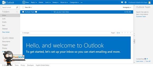 Microsoft Merilis Layanan Email Gratis: Outlook.com
