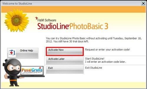 Dapatkan Lisensi StudioLine Photo Basic 3