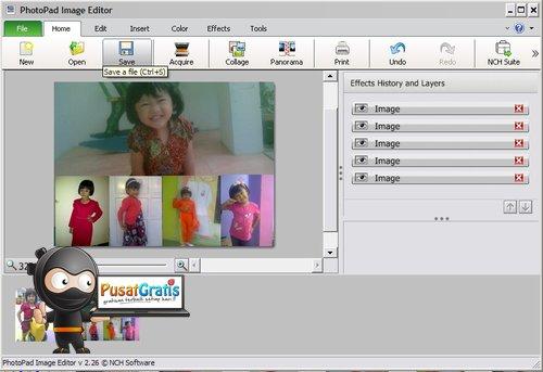 Membuat Panorama dan Kolase Foto dengan PhotoPad!