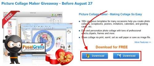 Dapatkan Lisensi Picture Collage Maker untuk Windows dan Mac