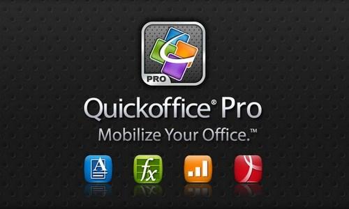 QuickOffice Akan Digratiskan di Setiap Tablet Android?