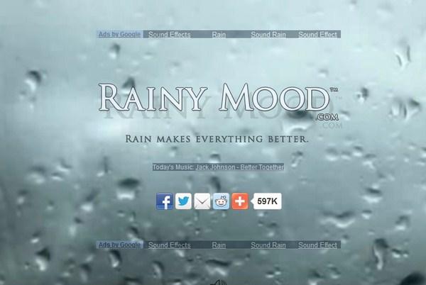 RainyMood: Ketika Suara Hujan Bisa Mengubah Banyak Hal