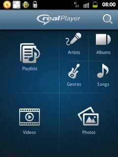 Real Player Android Hadir dengan All-in-One Interface untuk Video, Musik dan Gambar