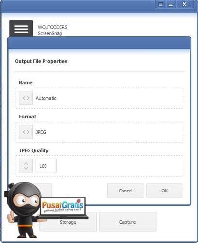 Satu lagi Aplikasi Gratis Pembuat Screenshot: ScreenSnag!