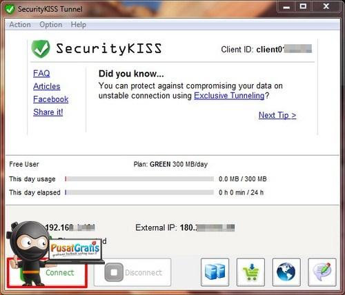 Akses VPN Gratis dengan Kuota Badwidth 9GB per Bulan!