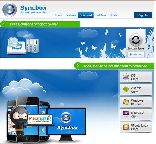 Membuat Cloud Storage Sendiri dengan Syncbox