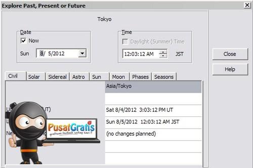 Mengikuti Informasi Waktu di Seluruh Belahan Bumi dengan Time Zone Master