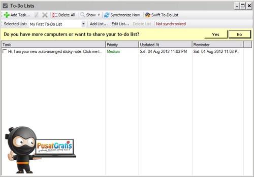 To-Do DeskList: Membuat To Do List di Desktop untuk Meningkatkan Produktivitas