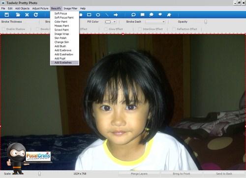 """Toolwiz Pretty Photo: Software Foto Editor untuk """"Mempercantik"""" Foto"""
