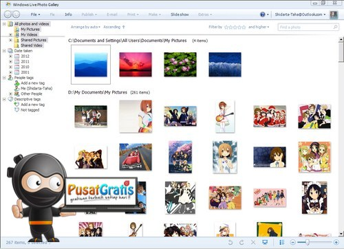 Windows Photo Gallery: Aplikasi Image Viewer Gratis dari Microsoft