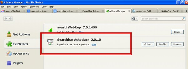 Searchbar Autosizer