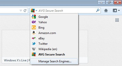 Cara Menghilangkan AVG Search dan Toolbar