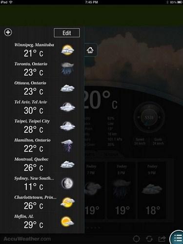AccuWeather: Aplikasi Cuaca Keren Untuk Android dan iOS