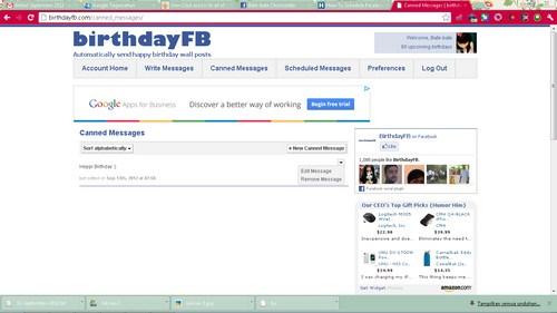 Tips Mengucapkan Selamat Ulang Tahun di FB Tepat Waktu
