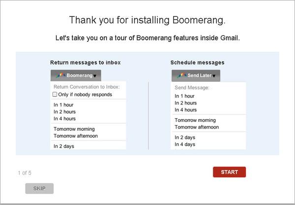 Cara Mengirim Email Secara Otomatis Menggunakan Boomerang