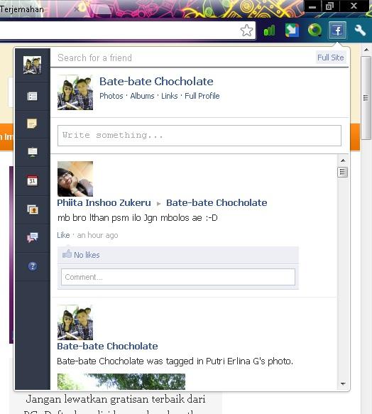 Mengakses Facebook Lebih Cepat dan Mudah Menggunakan Facebook For Chrome