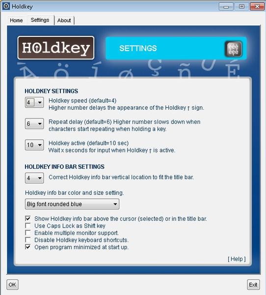 Menulis Aksen dengan Mudah dan Cepat Menggunakan Holdkey