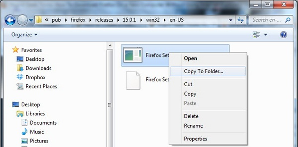 Cara Unik Untuk Mendownload Firefox Tanpa IE