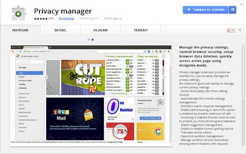 Jaga Privasi Berinternet Menggunakan Chrome Hanya Dengan Satu Klik