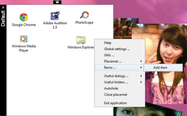 Menata dan Merapikan Icon Di Desktop Dengan Mudah Menggunakan QLaunch