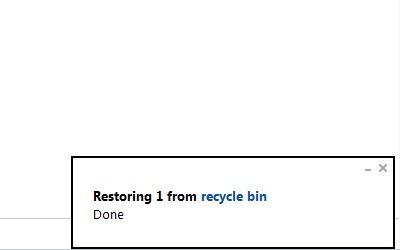 Cara Restore File yang telah di Delete di SkyDrive