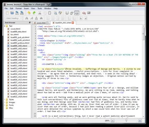 Sigil: Membuat eBook Sendiri Dengan Mudah, Cepat dan Gratis