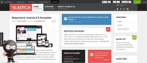 7 Template Joomla Gratis yang Responsif