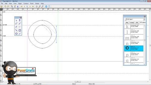 Mudah Menciptakan Font Sendiri Menggunakan Type Light