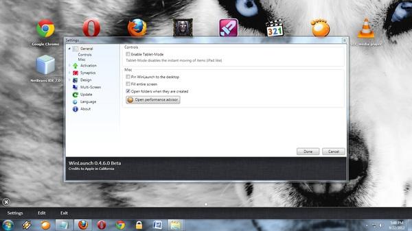 Dapatkan Suasana Launcpad Khas Mac OS X di Windows Dengan WinLaunch