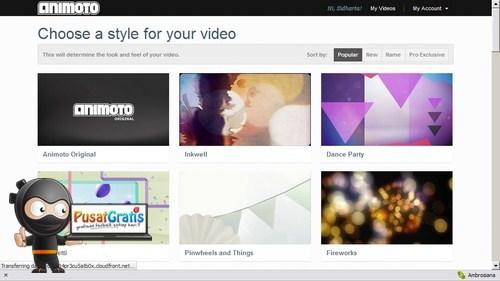 Ubah Foto Koleksimu menjadi Video Pendek dengan Animoto