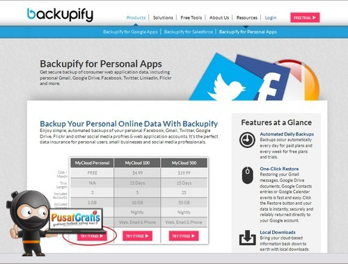 Backup Akun Online Kamu dengan BackUpfy