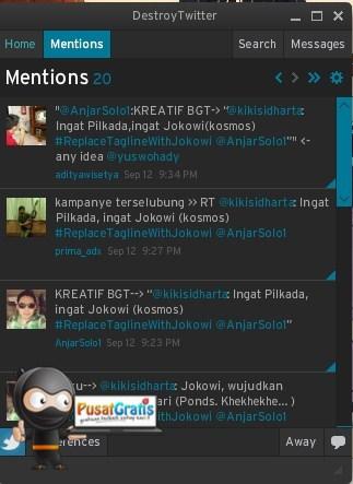 DestroyTwitter: Aplikasi Twitter Client yang Minimalis dan Praktis