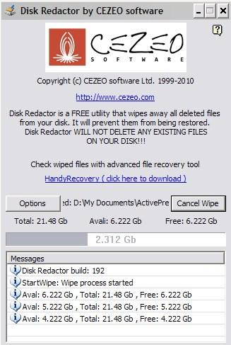 Menghapus Folder atau Disk Kamu Selamanya dengan Disk Redactor