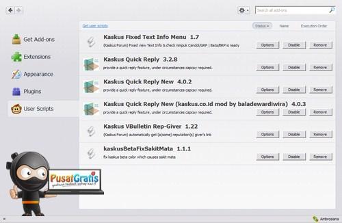 Greasemonkey Terbaru telah Dirilis, Kompatibel dengan Firefox 15