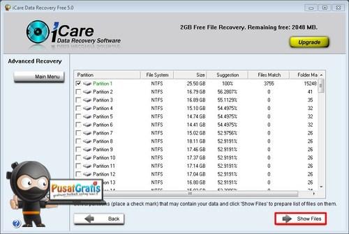 Mengembalikan Data yang Hilang dengan iCare Data Recovery Free Edition