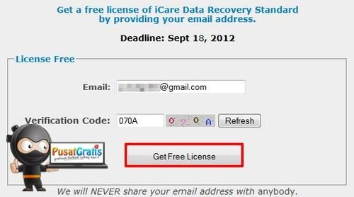 Dapatkan Lisensi iCare Data Recovery Standard Senilai $69.95