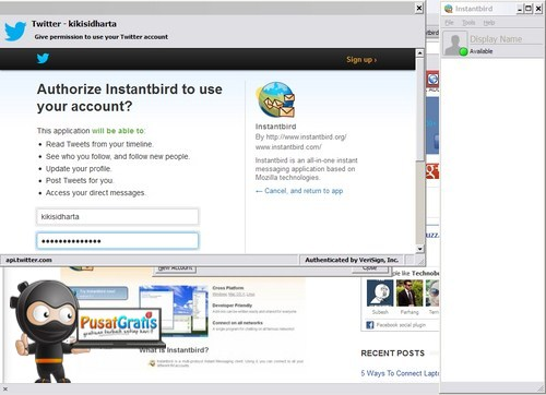 Kumpulkan Semua Instant Messenger Kamu Menjadi Satu dengan InstantBird