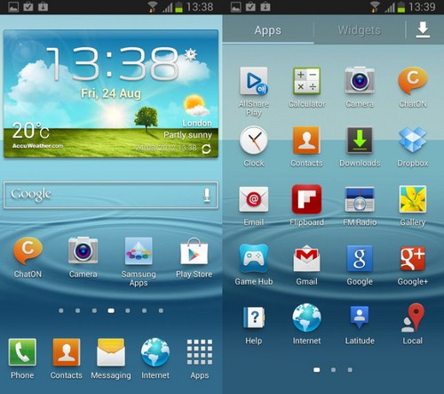 Download Android Jelly Bean untuk Samsung Galaxy SIII (Leak)