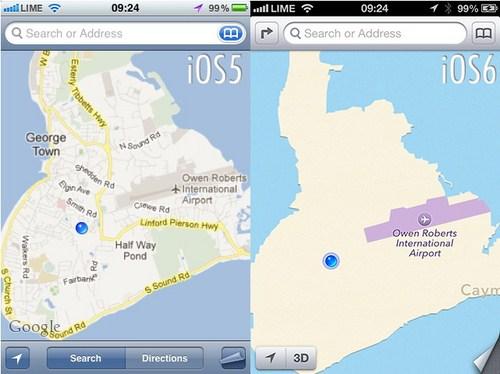 Jalan Grand Cayman di Cayman Islands hilang total, kecuali airportnya