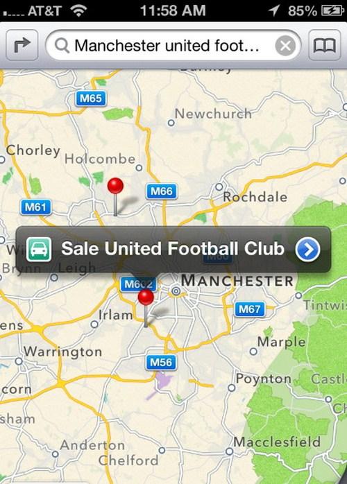 Manchester United Football Club tidak ditemukan!