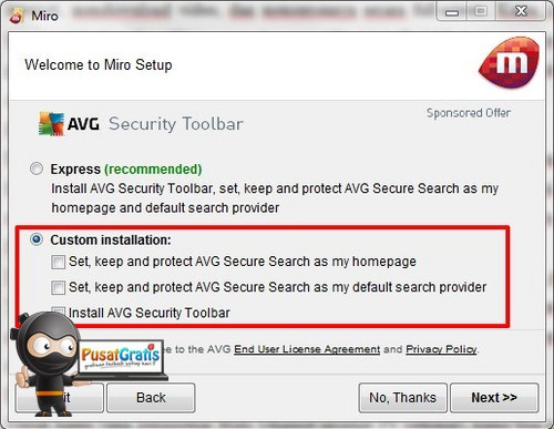 secure search avg