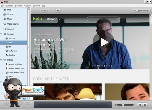 Menyulap Komputer Menjadi TV Internet dengan Miro