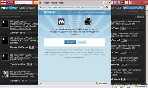 Mengetahui apa yang sedang Tren di Twitter dengan Monitter