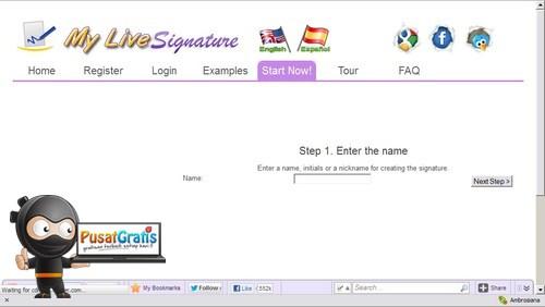 Yuk Bikin Tanda Tangan Online dengan MyLiveSignature!
