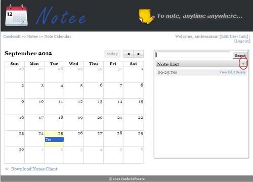 Notee: Aplikasi Alternatif untuk Mencatat Kegiatan Harian Kamu