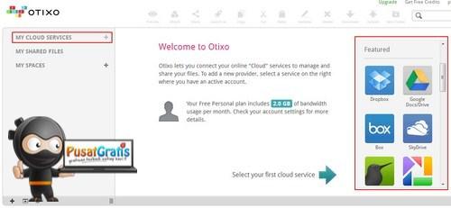 Otixo: Ayo Kumpulkan Berbagai Akun Cloud Storage Kamu Disini!