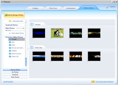 Membuat Desktop Makin Keren dengan PhotoJoy