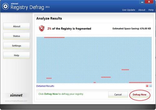 Optimasi Registry dan Percepat Komputer Kamu Dengan Simnet Registry Defrag