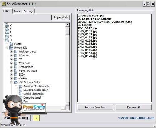 Solid Renamer: Merename Banyak File Sekaligus dengan Super Cepat